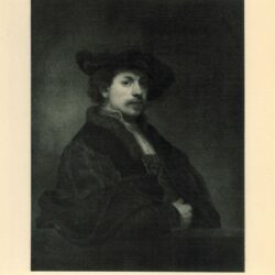 Rembrandt painting Self portrait at the age of 34