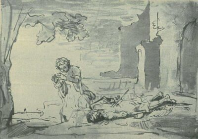 Rembrand drawing, ferdinand bol,