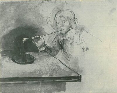 Rembrandt drawing,