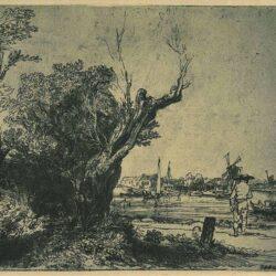 Rembrandt Bartsch B. 209, De Omval