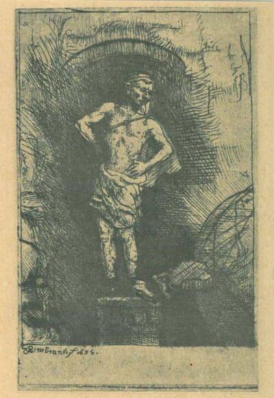 Rembrandt, Bartsch B. 36a,