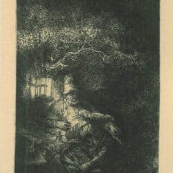 Rembrandt ets, Bartsch B. 57,