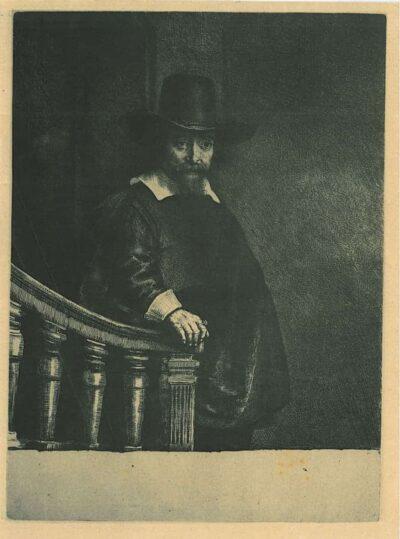 De Joodse arts Ephraim Bonus (1599-1655), Rembrandt, Bartsch, B. 278