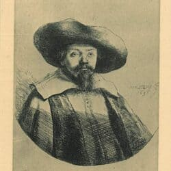Samuel Menasseh ben Israel (1604-1657), Rembrandt, Bartsch, B. 269