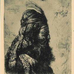 De derde oosterse kop, Rembrandt, Bartsch, B. 288