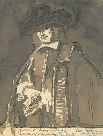 Rembrandt, Portret van Jan Six