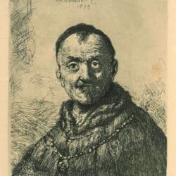 Rembrandt, Etching, Bartsch, B. 286,