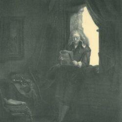Rembrandt, etching, Bartsch B. 285,
