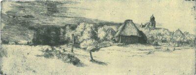 Rembrandt, etching, Bartsch B. 223,