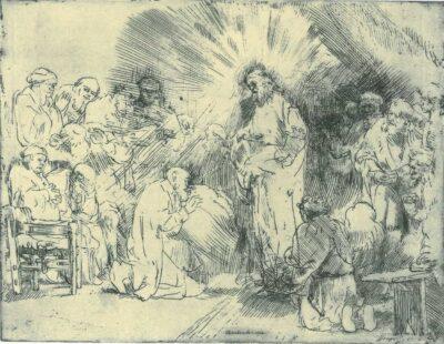 Rembrandt, etching, Bartsch B. 89,