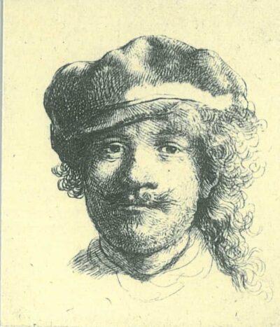 Rembrandt, etching, Bartsch B. 2,