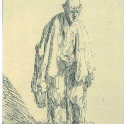 Rembrandt, etching, Bartsch B. 162,
