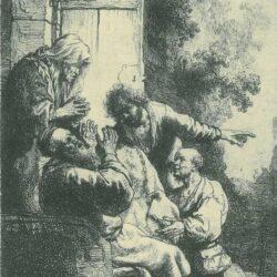 Rembrandt, etching, Bartsch B. 30,