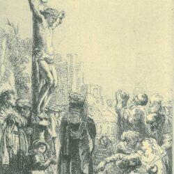 Rembrandt, etching, Bartsch B. 80,