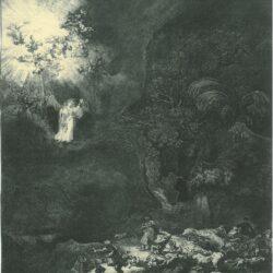 Rembrandt, etching, Bartsch B. 44,