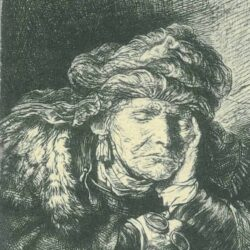 Rembrandt, etching, Bartsch B. 350,