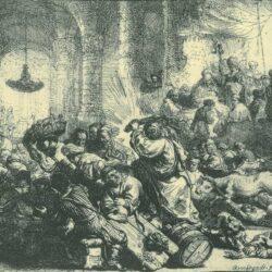 Rembrandt, etching, Bartsch B. 69,