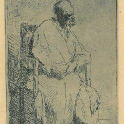 Rembrandt Etching: