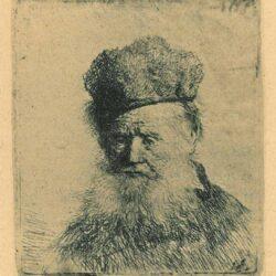 Rembrandt, etching, Bartsch b. 312, B
