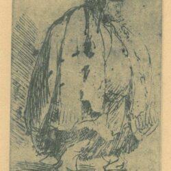 Rembrandt, etching, Bartsch b. 184,