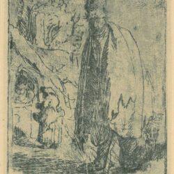 Rembrandt, ets, Seidlitz S. 376,