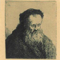 Rembrandt Etching, Bartch 314,