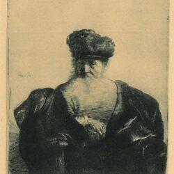 Rembrandt, etching, Bartsch B. 262,