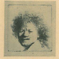 Rembrandt, etching, Bartsch b. 8,