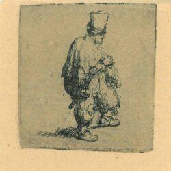 Rembrandt etching, Bartsch B. 140,
