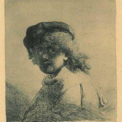 Rembrandt, etching, Bartsch B. 17,