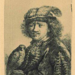 Rembrandt, etching, Bartsch B. 3,
