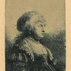 Rembrandt Etching, Bartch B. 347,