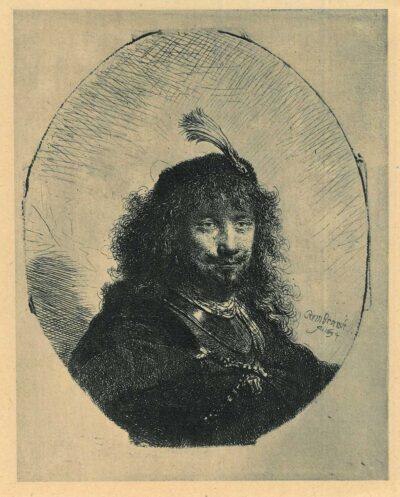 Rembrandt, etching, Bartsch B. 23,