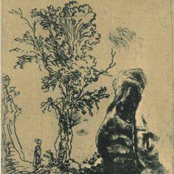 Rembrandt ets, Bartsch, B. 20,