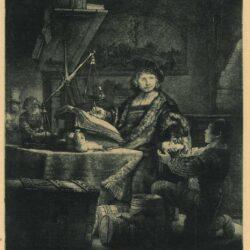 Rembrandt Etching, Bartch B. 281, Jan