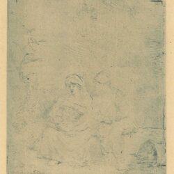 Rembrandt ets, Bartsch B. 58,