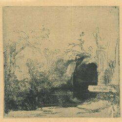 Rembrandt, Etching, Bartch B. 231,