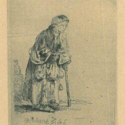 Rembrandt Ets Bartsch B. 170,