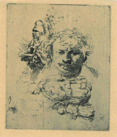 Rembrandt, Etching, Bartsch B. 370,