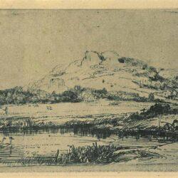 Rembrandt, Etching, Bartsch B. 235,