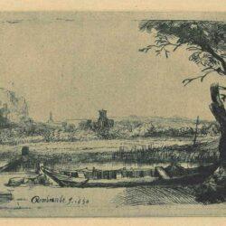 Rembrandt, Etching, Bartsch B. 236,