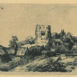 Rembrandt, Etching, Bartsch B. 218,