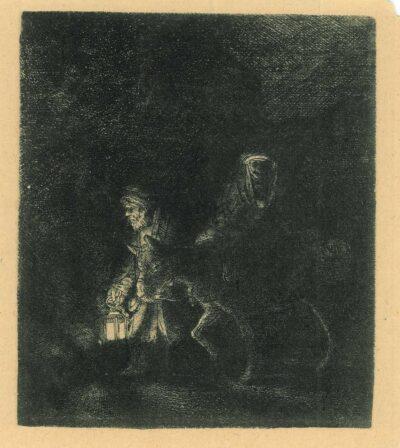 Rembrandt ets, Bartsch B. 53,