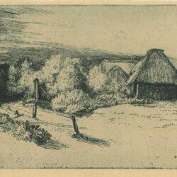 Rembrandt, etching, Bartsch B. 223, L