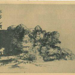 Rembrandt, etching, Bartsch B. 222,