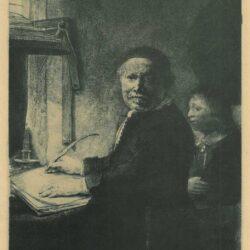 Rembrandt ets, Bartsch 282,