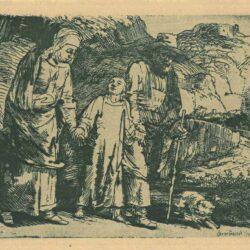 Rembrandt, etching, Bartsch B. 60,