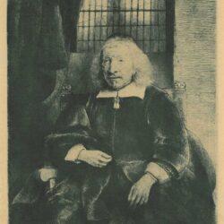 Rembrandt, etching, Bartsch B. 274, Thomas Haaringh or 'the old Haaringh' (?-1660)