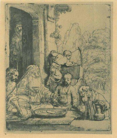 Rembrandt Ets, Bartsch 29,