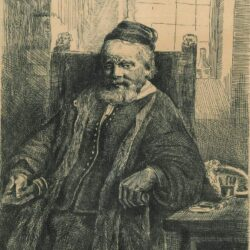 Rembrandt ets, Bartsch B. 276, De goudsmid Jan Lutma (1584-1669)